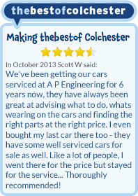 Best of Colchester - 5 Star reviews